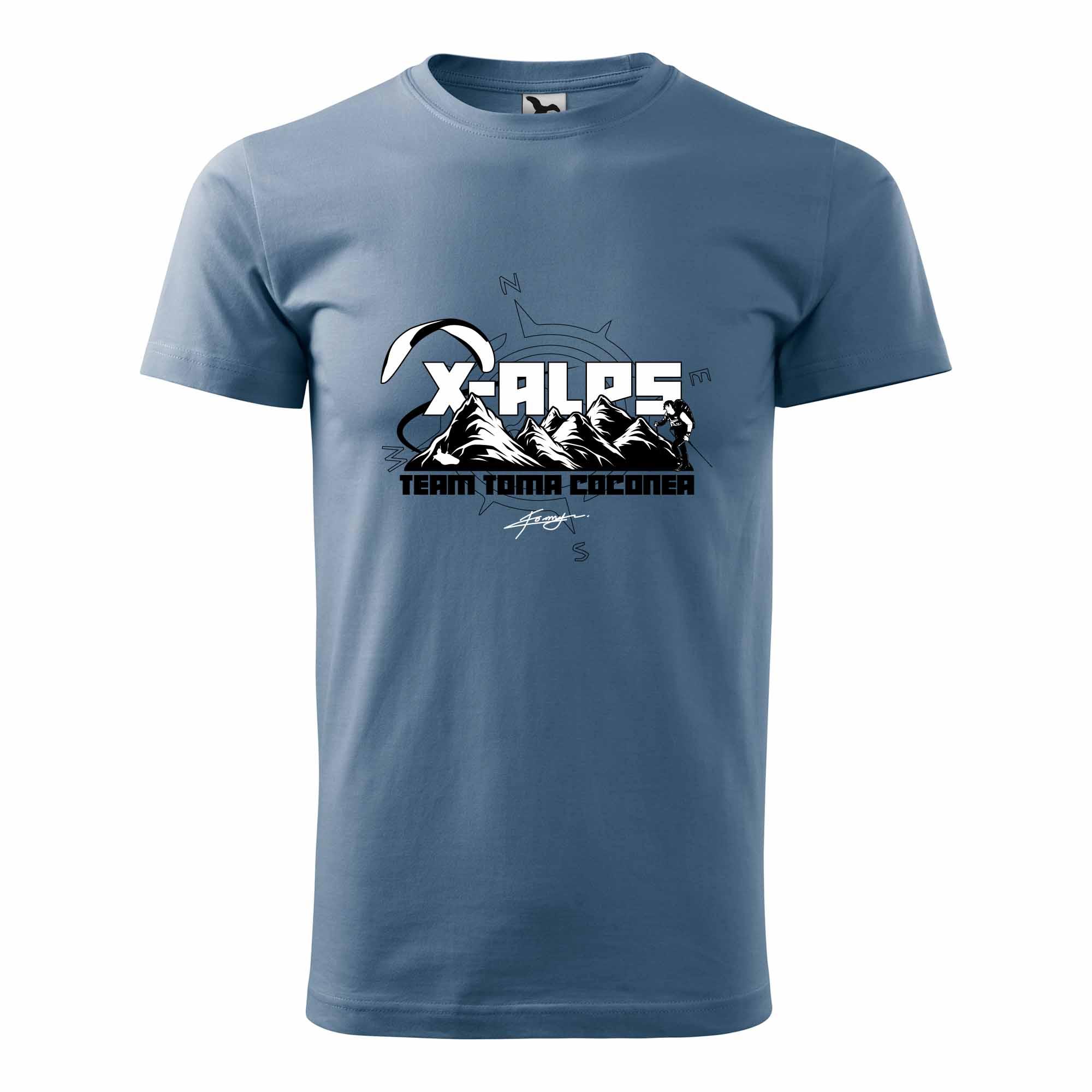 tricou X-Alps 2021 Toma Coconea team men